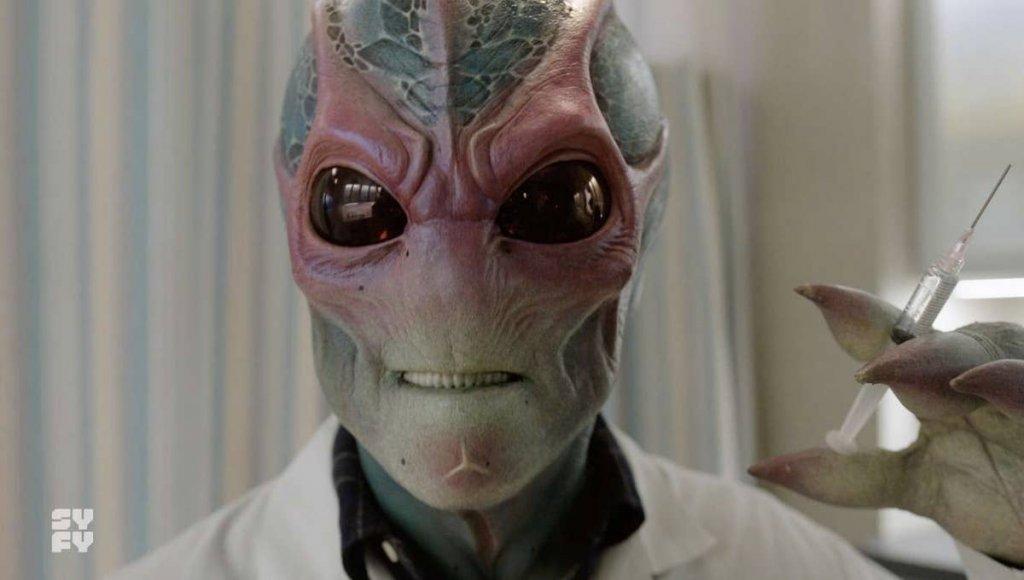 Сериал «Засланец из космоса» — «Клиника» про инопланетянина 2