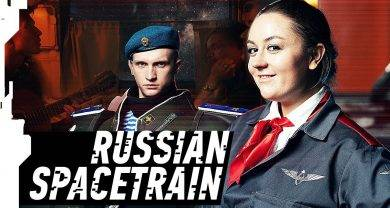 «Русский космопоезд» — новый ролик отавтора «Русской кибердеревни». Внимание накамео!