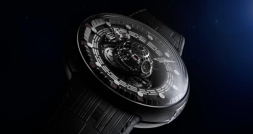 «Звезда Смерти»: швейцарская компания выпустила часы, вдохновлённые «Звёздными войнами»