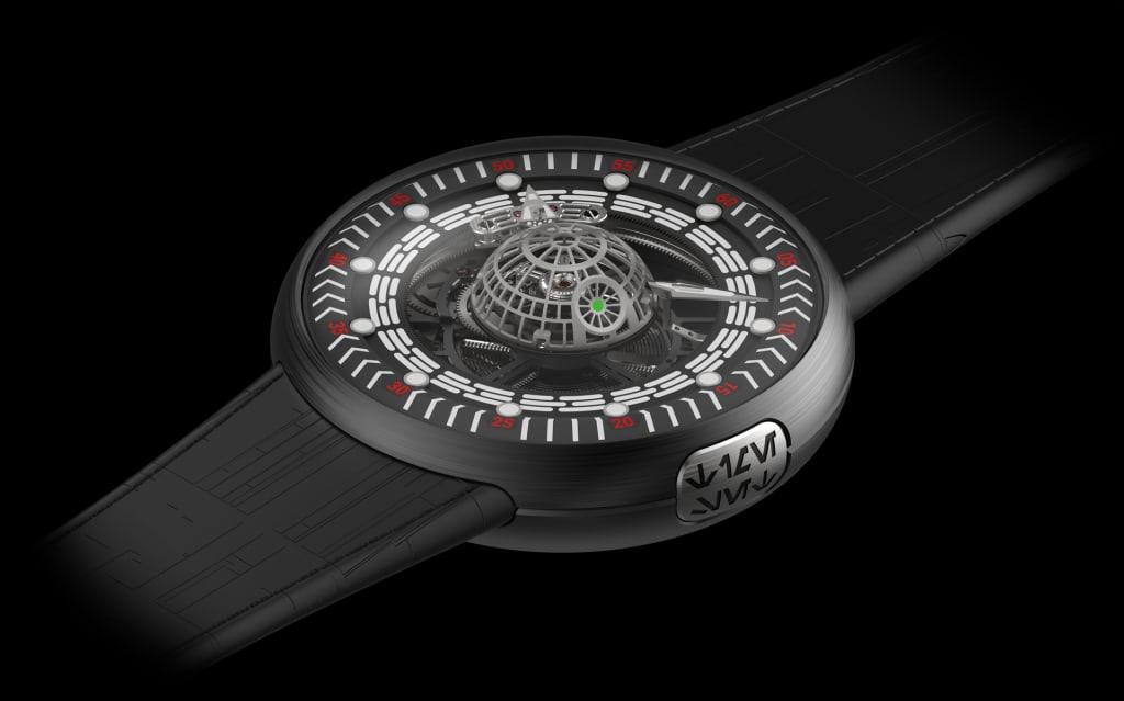 «Звезда Смерти»: швейцарская компания выпустила часы, вдохновлённые «Звёздными войнами» 1