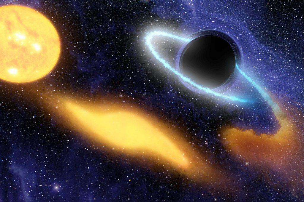 Суть чёрных дыр: открытие, строение, виды 12