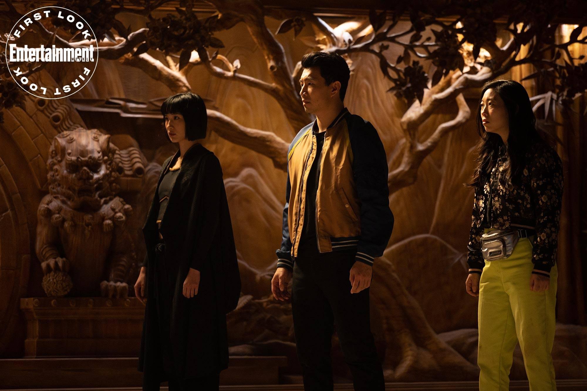 Первые кадры экшена «Шан-Чи и легенда Десяти колец» 2