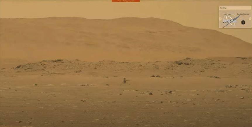 NASA успешно запустило запустило дрон Ingenuity наМарсе