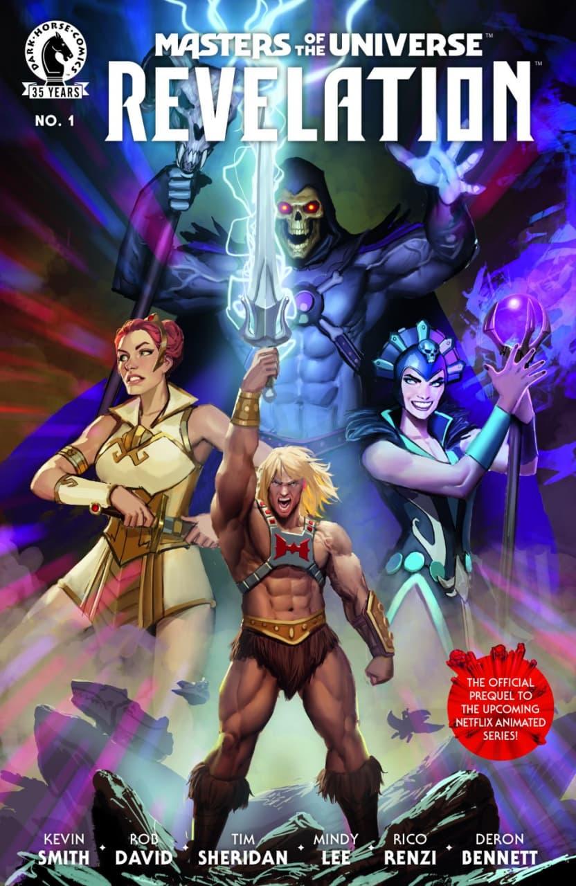 Кмультсериалу Masters of the Universe: Revelation Кевина Смита выйдет комикс-приквел 1