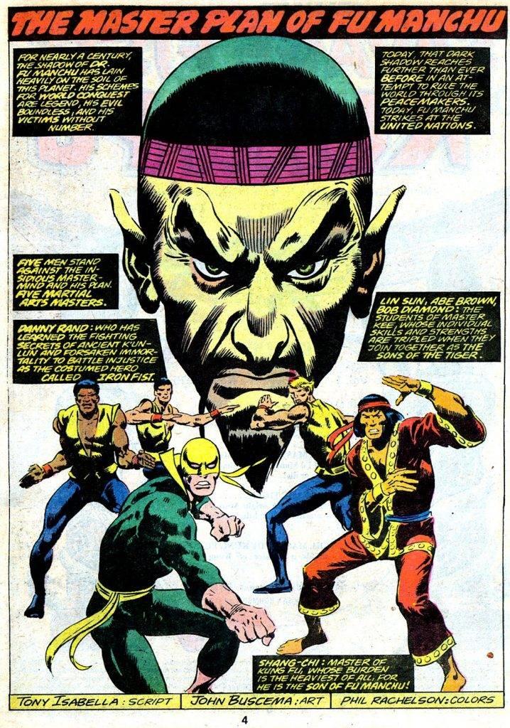 Шан-Чи в комиксах Marvel: боевые искусства и настоящий Мандарин 4