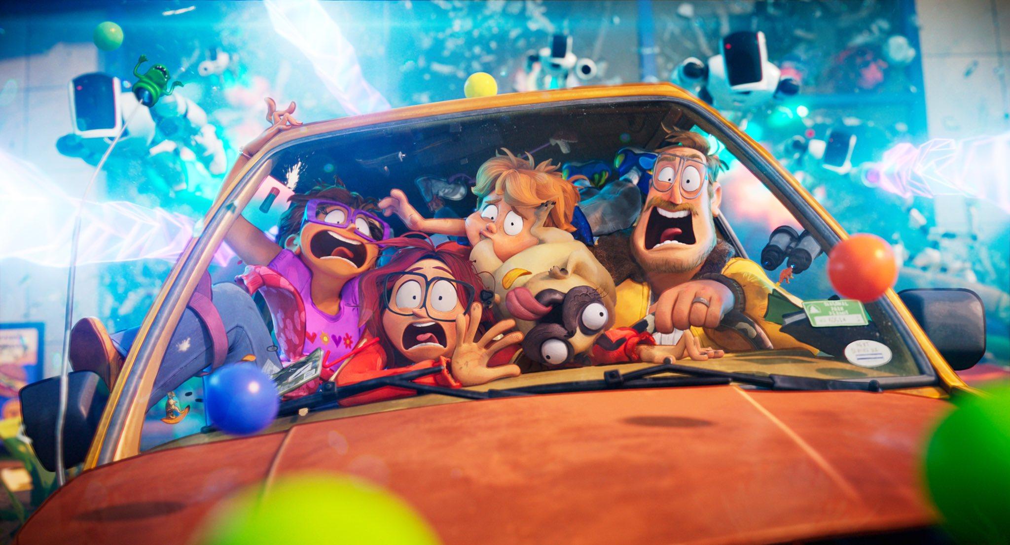 Forbes: «Митчеллы против машин» стал самым популярным фильмом Netflix вэтом году