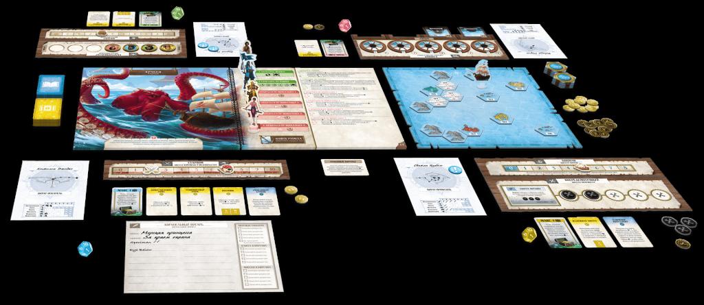 «Забытые моря»: настольная игра про пиратов 2