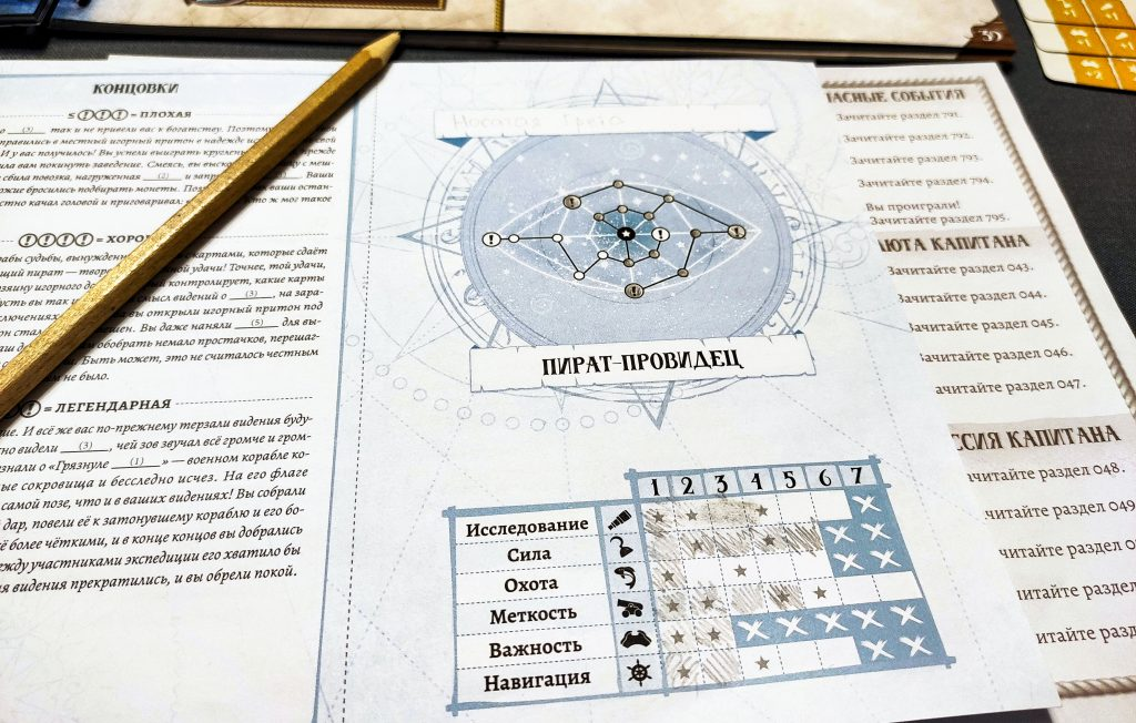 «Забытые моря»: настольная игра про пиратов 5