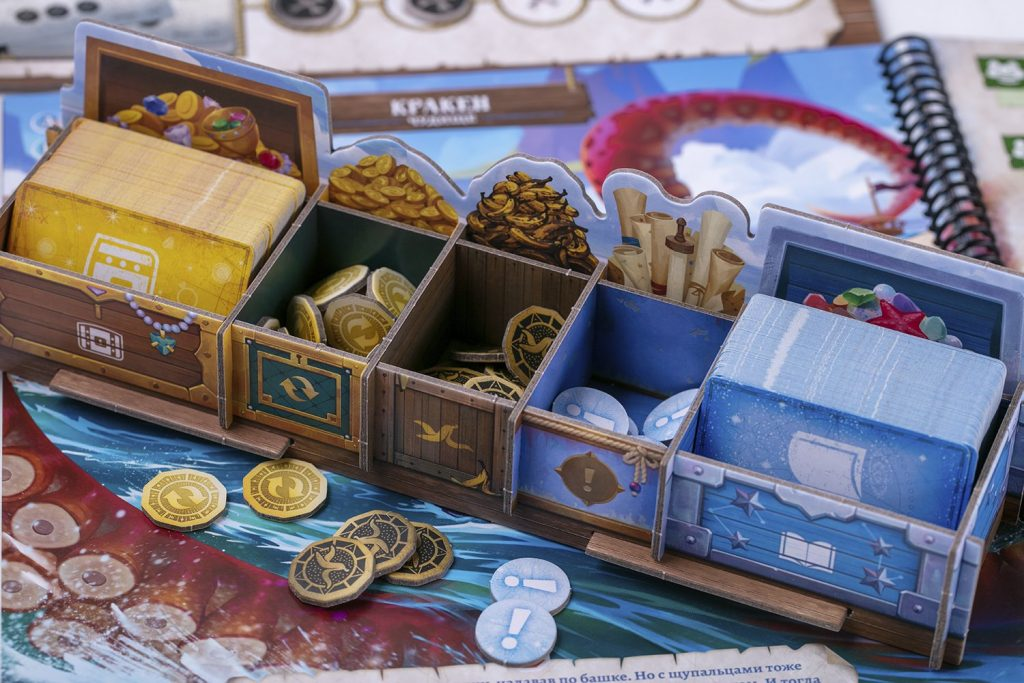 «Забытые моря»: настольная игра про пиратов 7