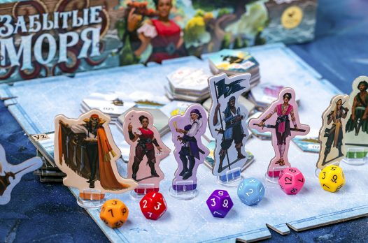 «Забытые моря»: настольная игра про пиратов 8