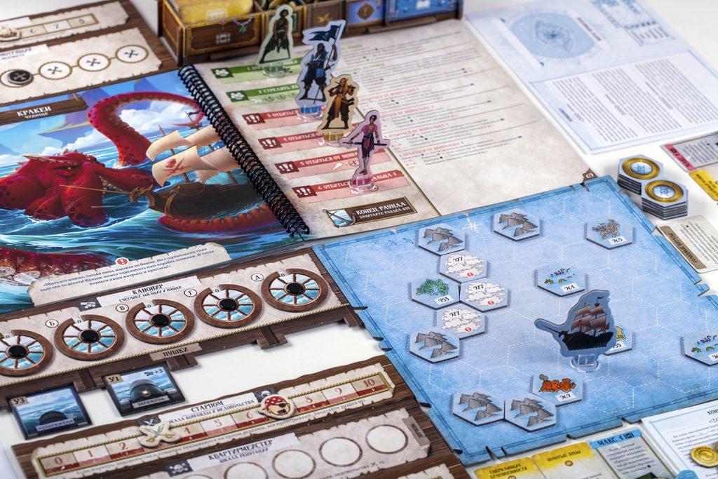 «Забытые моря»: настольная игра про пиратов