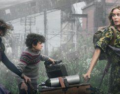 Герои «Тихого места 2» познаю ужасы внешнего мира в новом трейлере