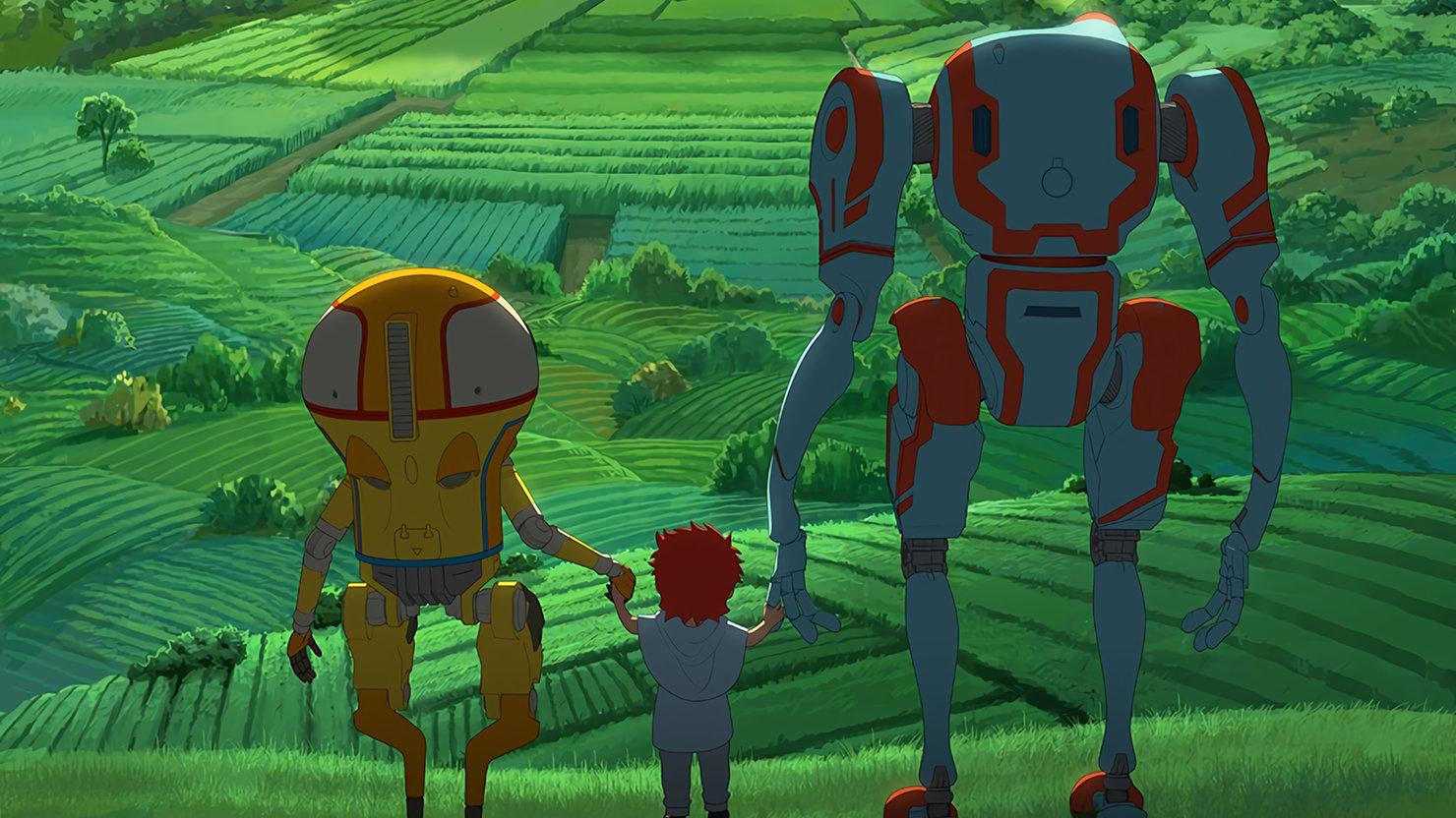 Сериал «Эдем»: скучный рай прекрасных аниматоров