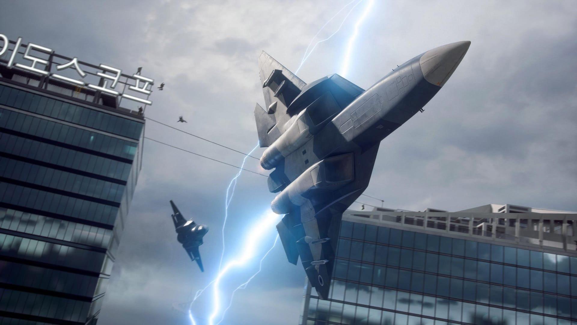Торнадо и битва за ресурсы в первом трейлере Battlefield 2042