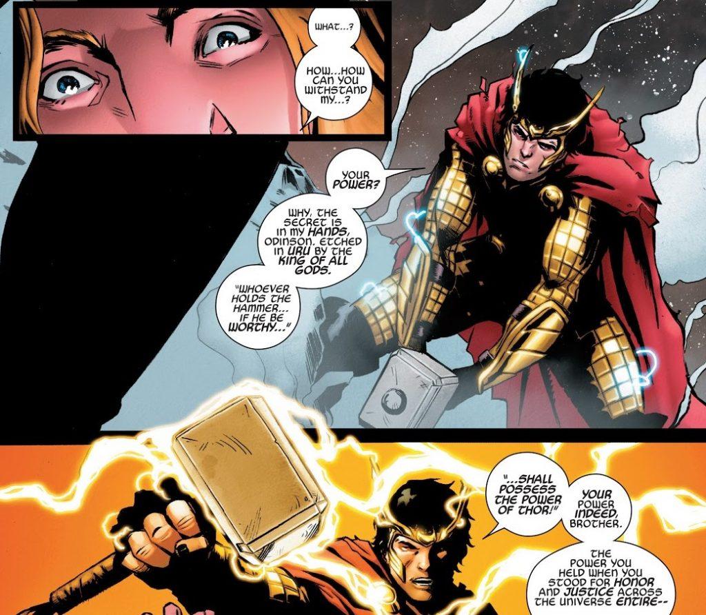 Локи из Marvel: как менялся бог обмана в комиксах 7