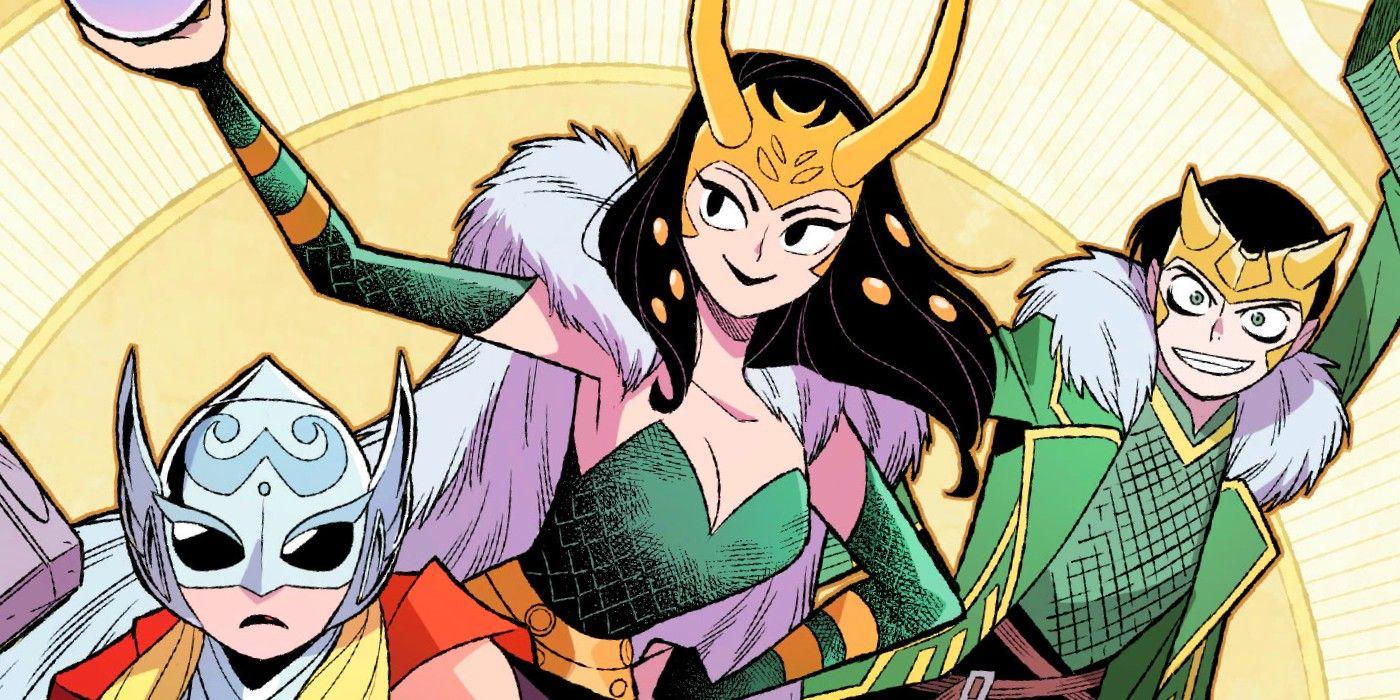 Локи из Marvel: гендерфлюид, герой и кандидат. Как менялся бог обмана вкомиксах