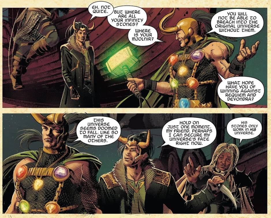 Локи из Marvel: как менялся бог обмана в комиксах 11