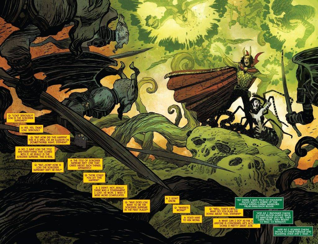 Локи из Marvel: как менялся бог обмана в комиксах 9