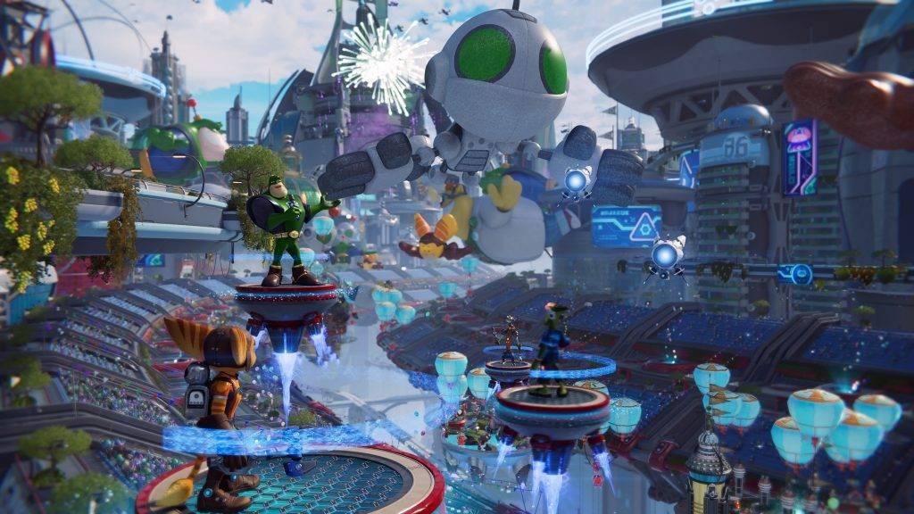 Обзор «Ratchet & Clank: Сквозь миры». Зверьки, доставляющие радость