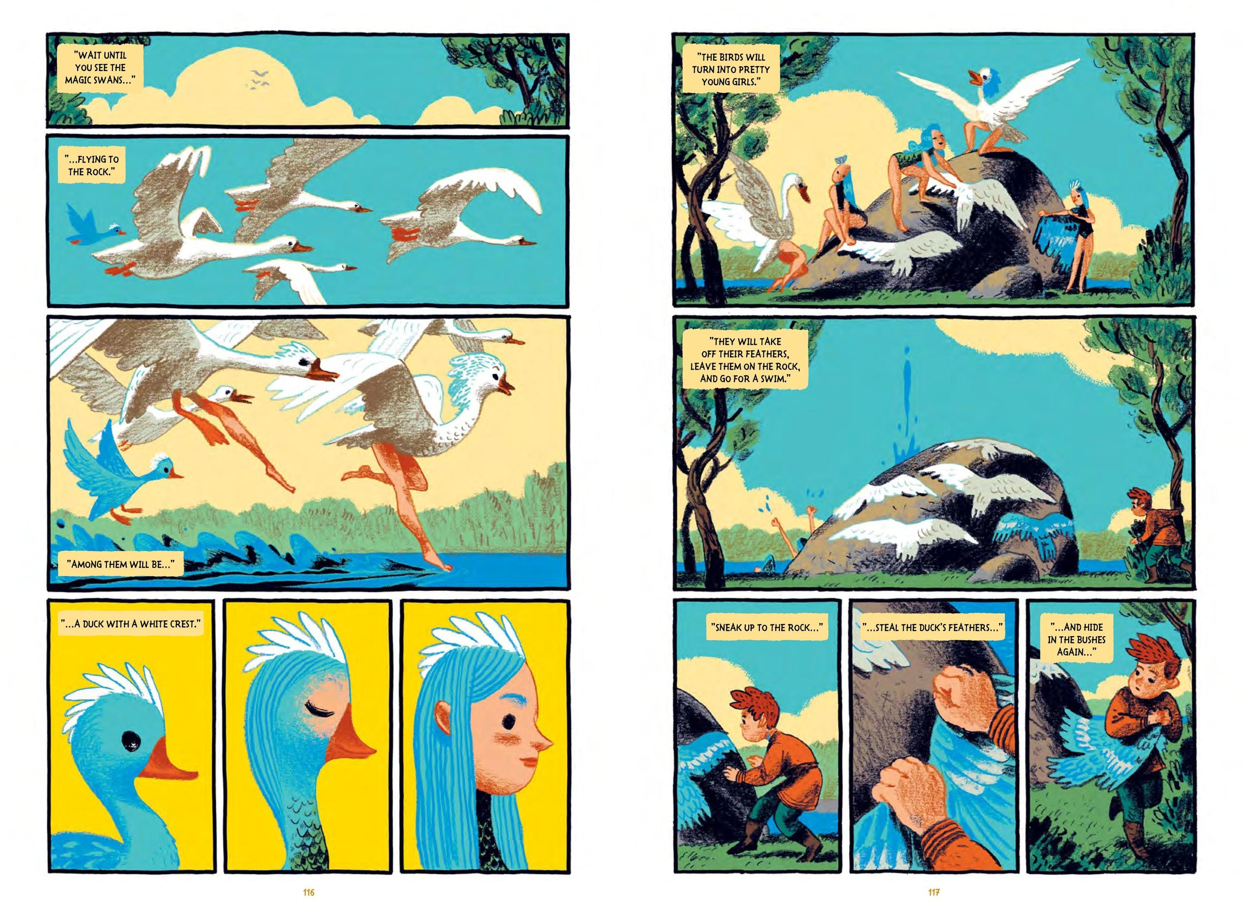 Комикс «Сказки Гамаюн» Александра Уткина номинированы напремию Айснера. Вэтом году они наконец-то выйдут нарусском 4