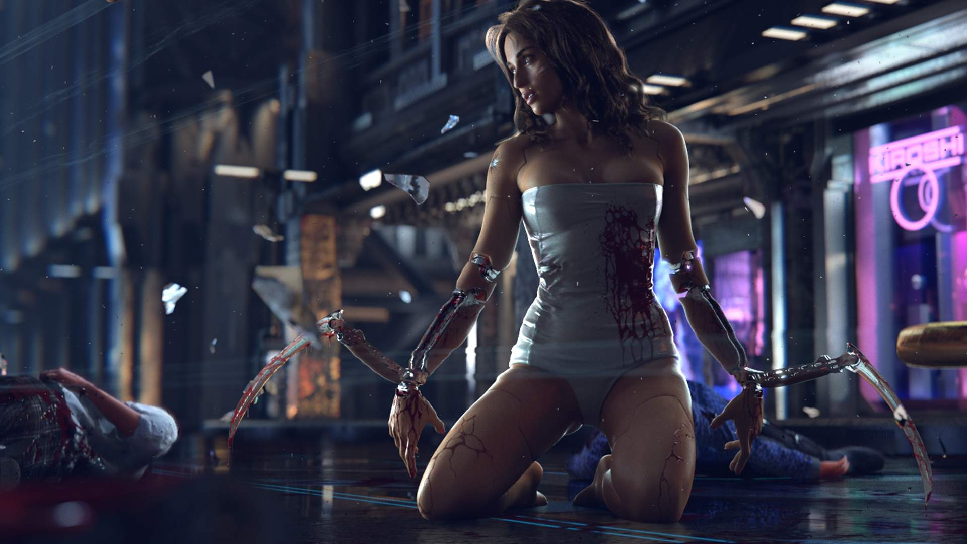 Утечка: 4 минуты геймплея Cyberpunk 2077 от 2013 года