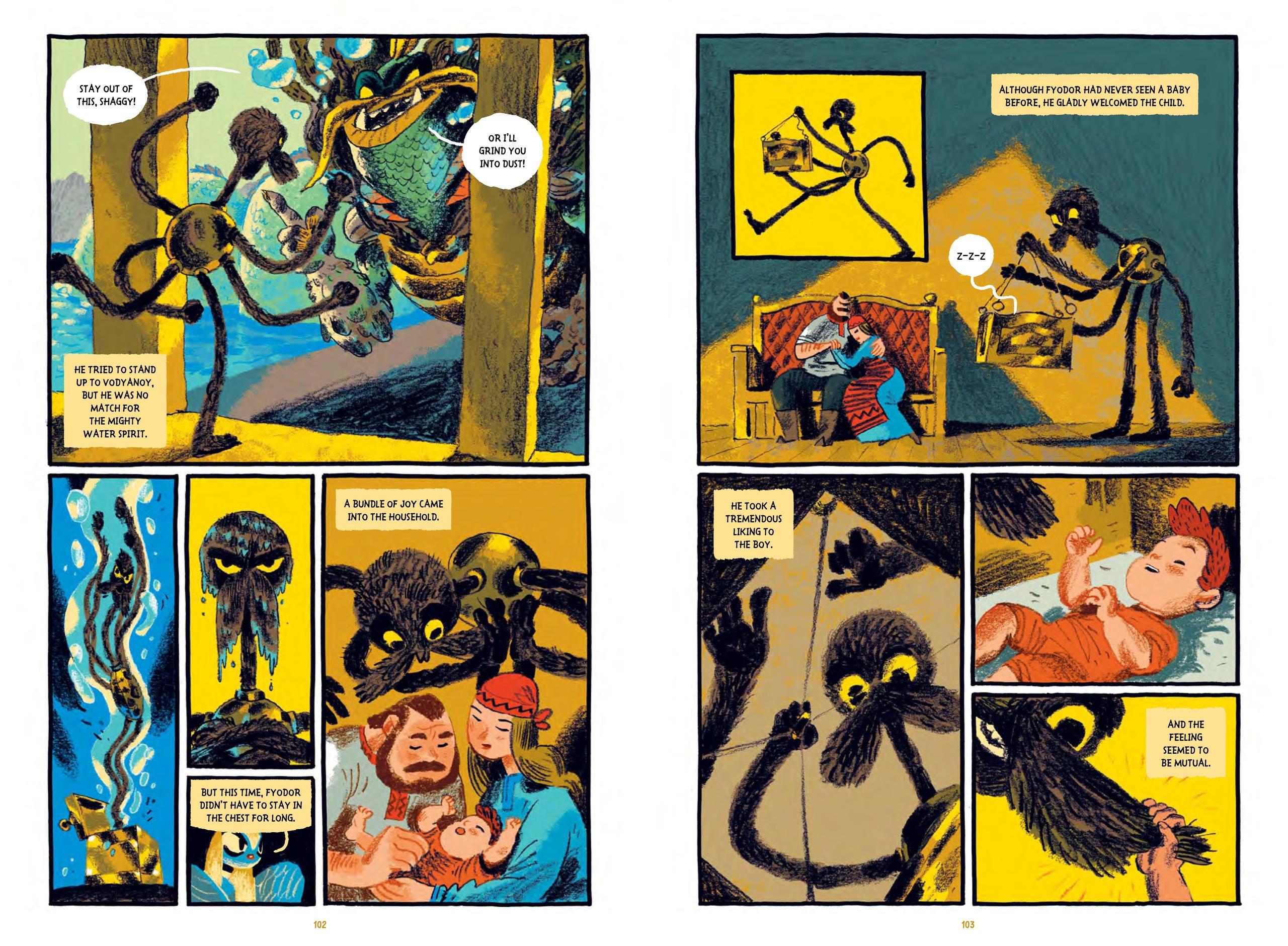 Комикс «Сказки Гамаюн» Александра Уткина номинированы напремию Айснера. Вэтом году они наконец-то выйдут нарусском 3