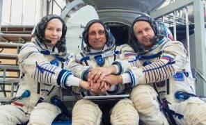 Киноэкипаж фильма «Вызов» вернулся с МКС на Землю